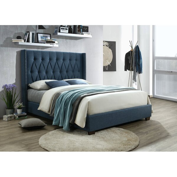 Zain Upholstered Standard Bed by House of Hampton