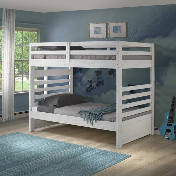 Mccarter Twin over Twin Bunk Bed by Harriet Bee