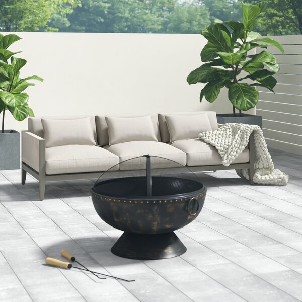 Almyra Patio Sofa with Cushion by Greyleigh