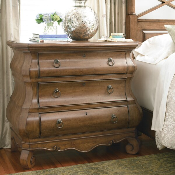 Mauritane 3 Drawer Chest by World Menagerie