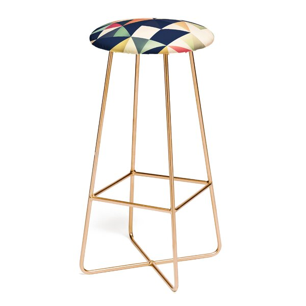 Spires Tessellate 31 Bar Stool by East Urban Home