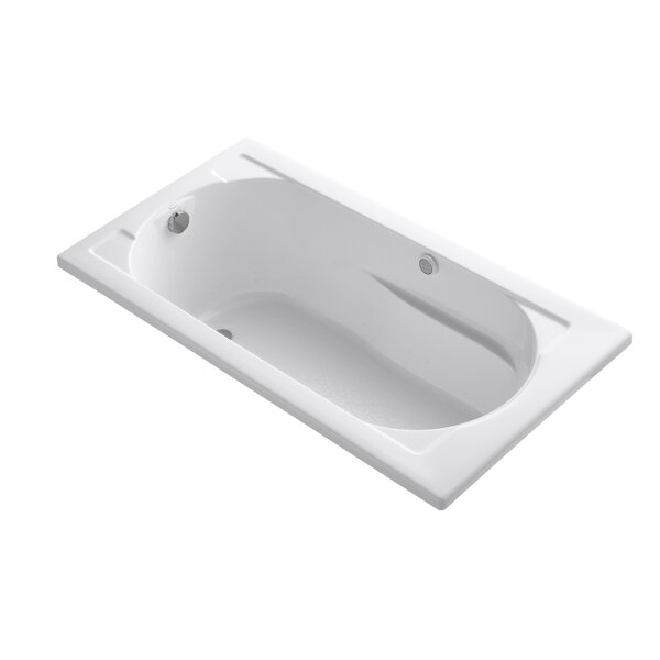 Devonshire 60 x 32 Drop-in BubbleMassage Air Bathtub by Kohler