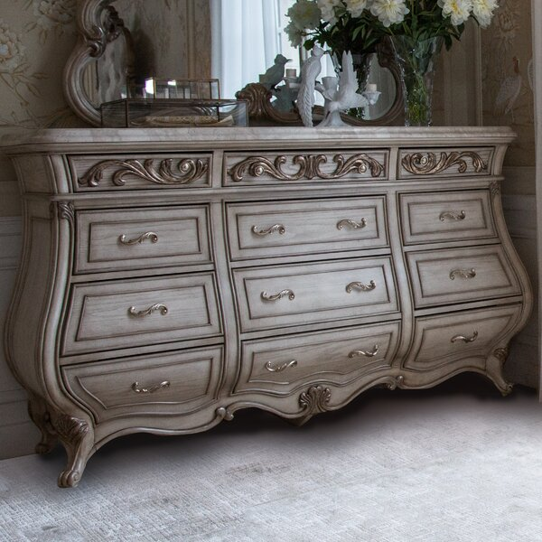 Platine De Royale 12 Drawer Dresser by Michael Amini