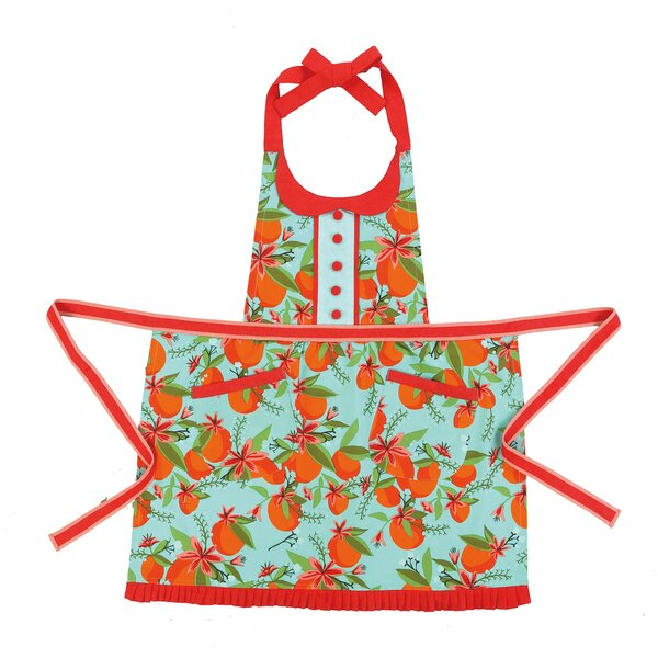 Orange You Lucky Apron by Iza Pearl Design