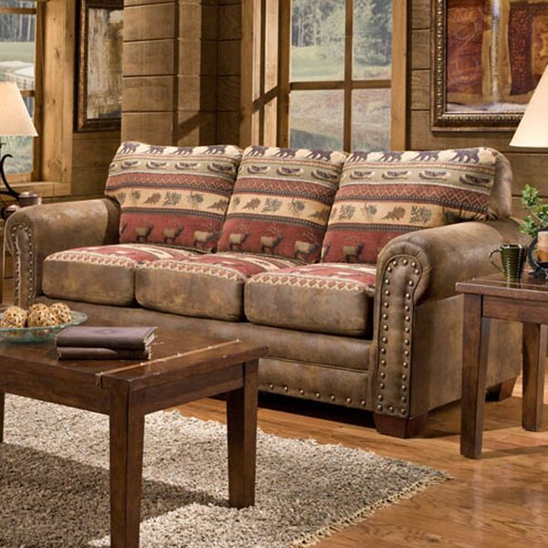 Stay On Trend This Charlie Sierra Sofa by Millwood Pines by Millwood Pines