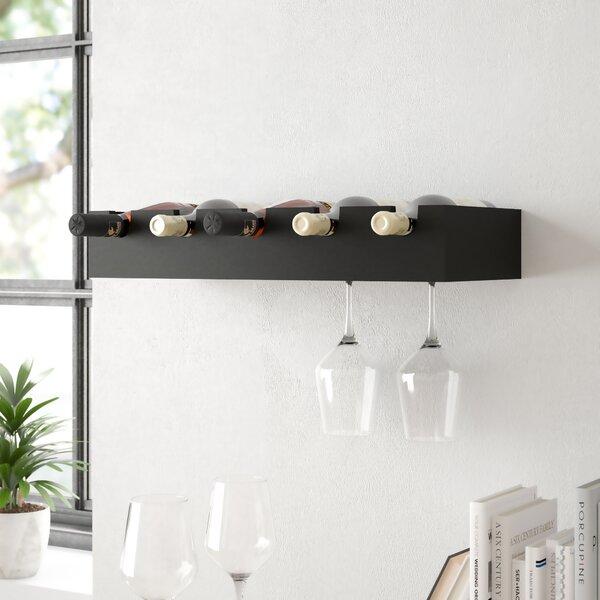 Kittleson 5 Bottle Wall Mounted Wine Rack by Zipcode Design
