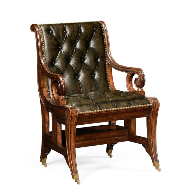 Windsor Regency Style Metamorphic Library Steps Armchair by Jonathan Charles Fine Furniture