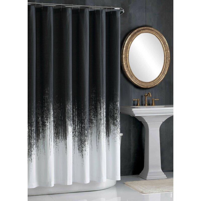 Pack of 24 Metal Rings Picnic Shower Curtain Hook Set
