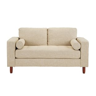 Jamar Loveseat with Bolster Pillows