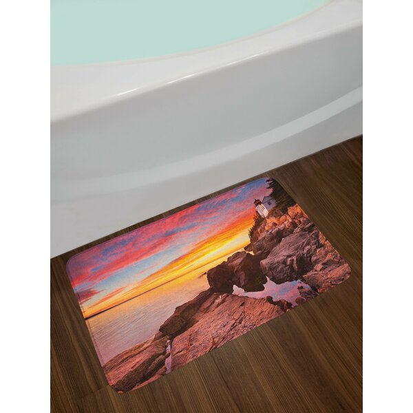 Multicolor National Parks Bath Rug by East Urban Home