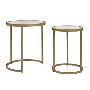 Modern Nesting Tables AllModern - Nesting table with drawer