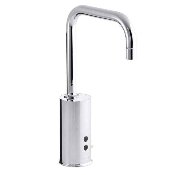 Gooseneck Single-Hole Touchless Dc-Powered Commercial Faucet with Insight Technology and Temperature Mixer by Kohler