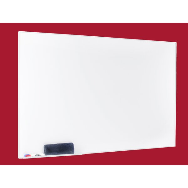 Egan Presentation Boards Aluminum Square Frame Dry Erase Wall Mounted Magnetic Whiteboard by Egan Visual Inc.