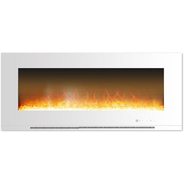 Abou Wall Mounted Electric Fireplace by Orren Ellis Orren Ellis
