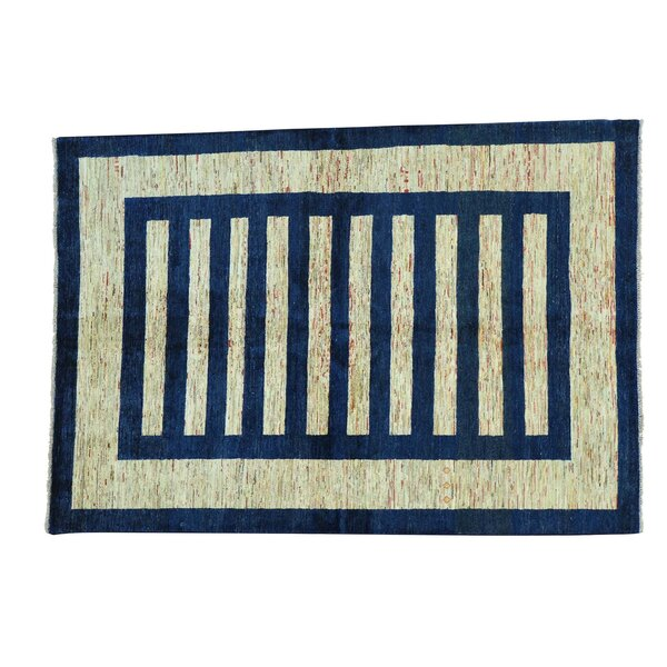 One-of-a-Kind Bagby Oriental Hand-Knotted Area Rug by Isabelline