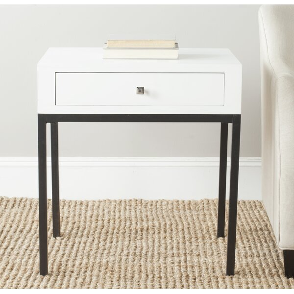 Lorinda End Table by Wrought Studio
