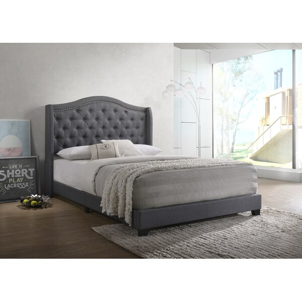 Amara Upholstered Standard Bed By Grovelane Teen by Grovelane Teen 2020 Sale