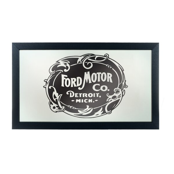 Vintage 1903 Ford Motor Co. Framed Graphic Art by Trademark Global