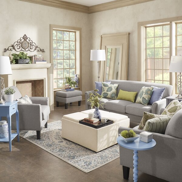 #1 Wydmire Configurable Living Room Set By Charlton Home Purchase