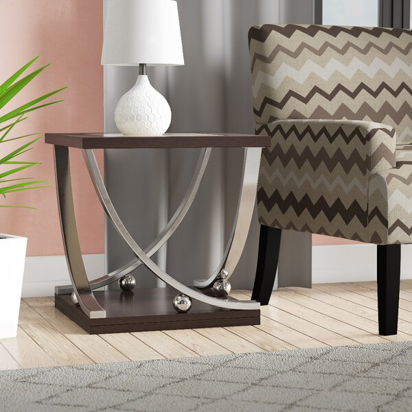 Asya End Table by Orren Ellis