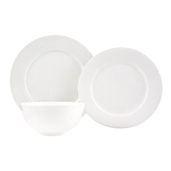 Laleia Rimmed 18 Piece Dinner Set by Red Barrel Studio