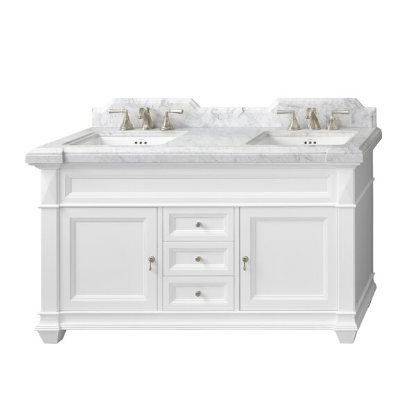 Torino 61 Double Bathroom Vanity Set by Ronbow