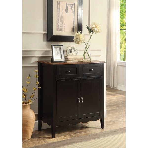 Rittenberry 2 Door Wine Accent Cabinet by Charlton Home