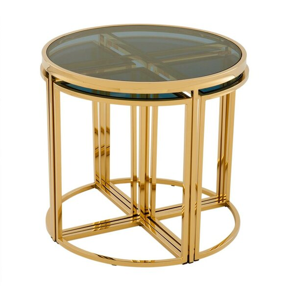 Free S&H Vicenza 5 Piece Nesting Tables