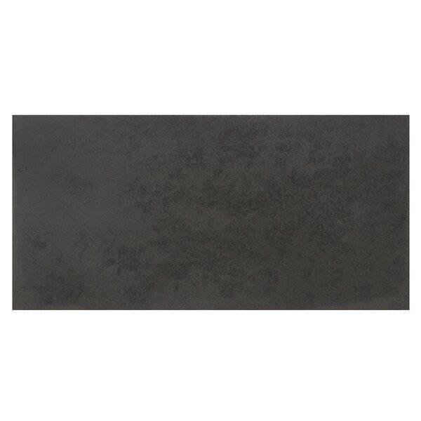Basalt Honed 15 x 30 Basalt Leather Look/Field Tile in Gray by Solistone