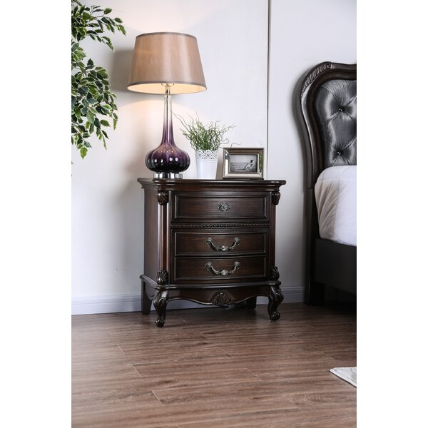 Gottlieb 2 Drawer Nightstand by Astoria Grand