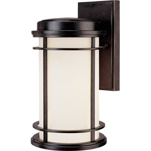 Affordable Price Teminot 1-Light Outdoor Wall Lantern By Bloomsbury Market