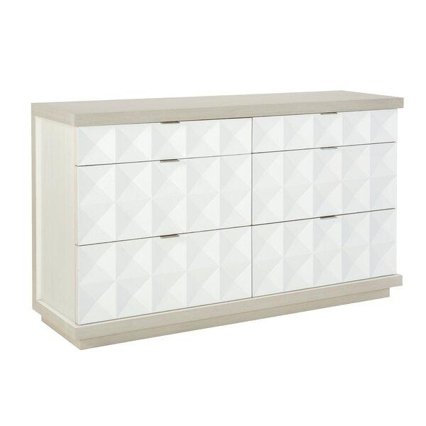 Axiom 6 Drawer Double Dresser by Bernhardt