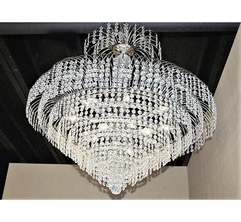 Carson 14-Light Crystal Chandelier
