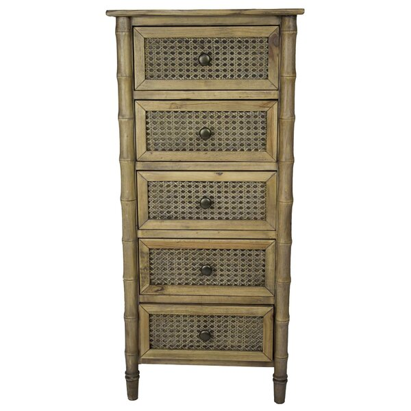 Amani 5 Drawer Accent Chest By Bay Isle Home