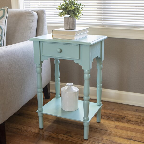 Eagan End Table With Storage By Alcott Hill