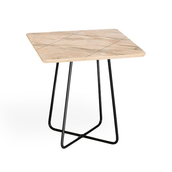 Iveta Abolina Alaskan Gelato End Table by East Urban Home