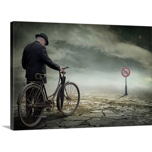 'Here It Stops for Most' by Ben Goossens Graphic Art on Canvas by Great Big Canvas