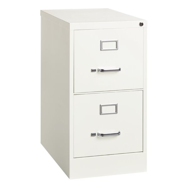 Zavala Commercial Grade Deep 2-Drawer Vertical Filing Cabinet by Symple Stuff