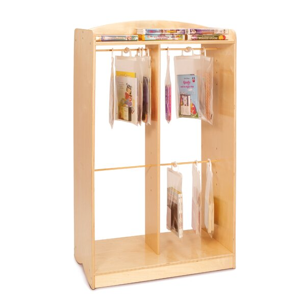 2 Compartment Book Display by Whitney Brothers