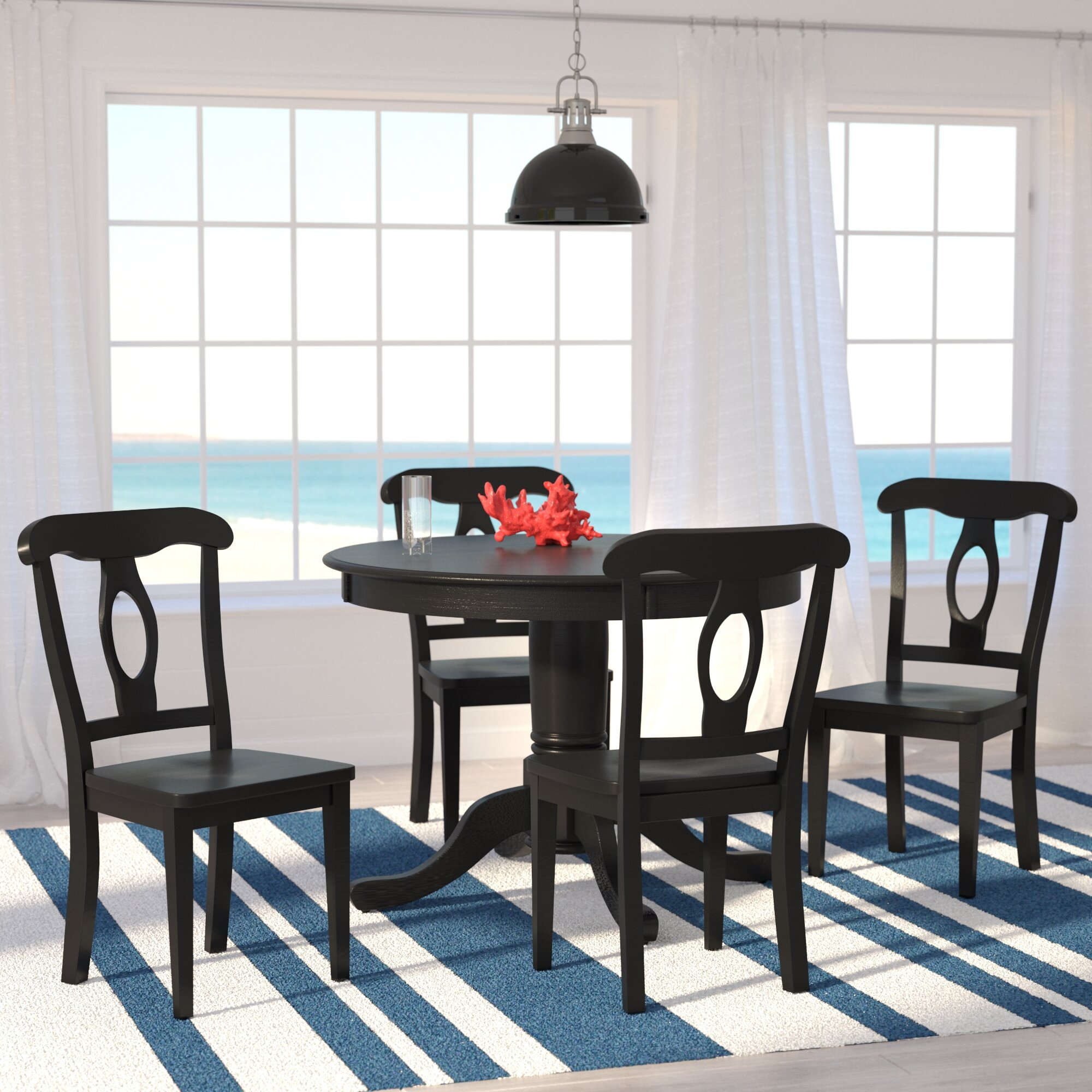 Charmant Beachcrest Home Gaskell 5 Piece Dining Set U0026 Reviews   Wayfair