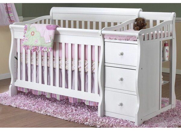 Princeton Elite 4-in-1 Convertible Crib and Change