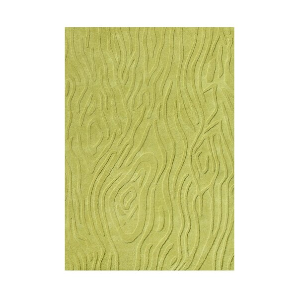 Hand-Tufted Lime Green Area Rug by The Conestoga Trading Co.