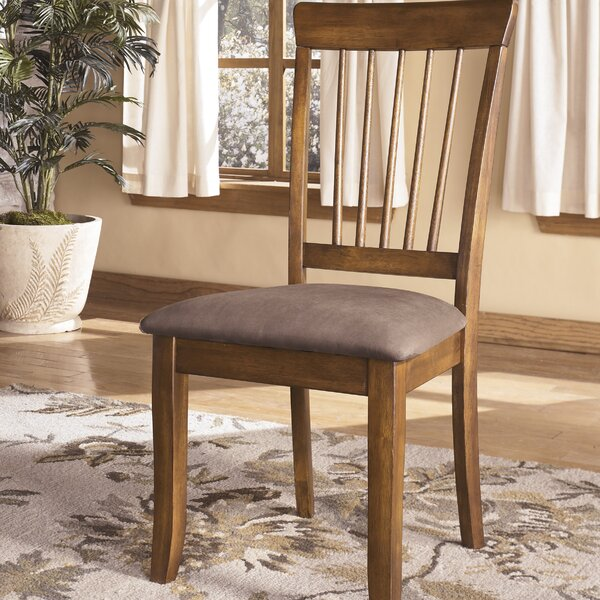 Solange Upholstered Dining Chair (Set of 2) by Bay Isle Home