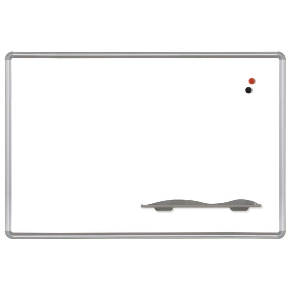 Presidential Trim Magnetic Wall Mounted Whiteboard by Best-Rite®