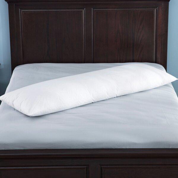 Goodlett Goose Down Body Pillow by Alwyn Home