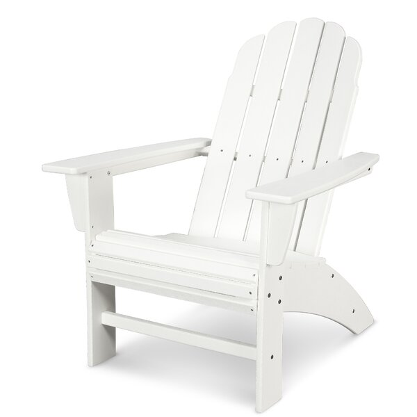 Vineyard Curveback Adirondack Chair by POLYWOOD®