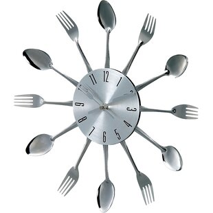 Shop for 14.75 Verichron Spoon Wall Clock by Stilnovo