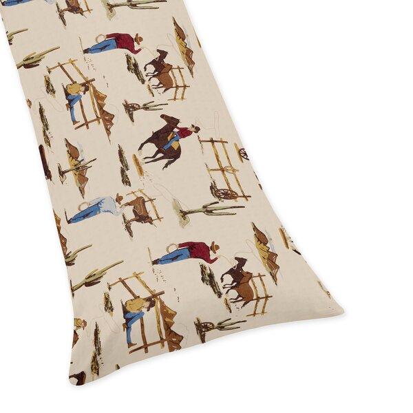 Wild West Cowboy Body Pillow Case by Sweet Jojo Designs