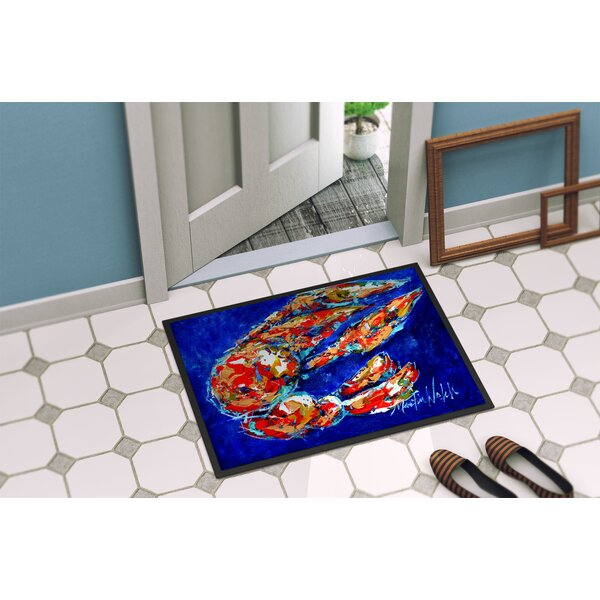 Craw Momma Crawfish Non-Slip Indoor Door Mat