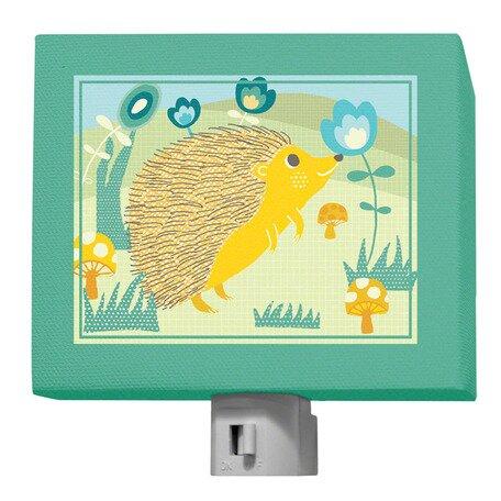 A Through Z Animals - Hedgehog Night Light by Oopsy Daisy